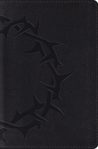 ESV Compact Bible TruTone®, Charcoal, Crown