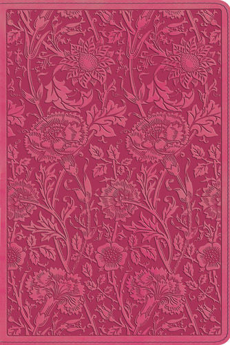ESV Personal Reference Bible: TruTone, Berry, Floral Design