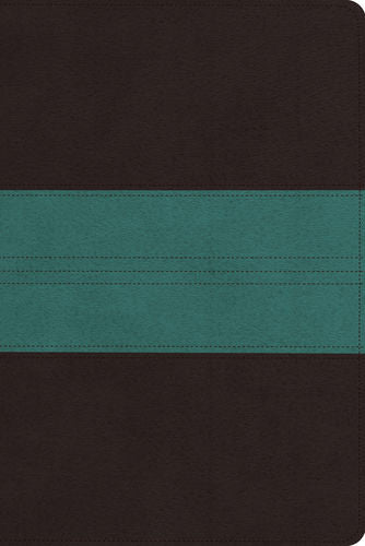 ESV Personal Reference Bible: TruTone, Dark Brown/Teal, Trail Design