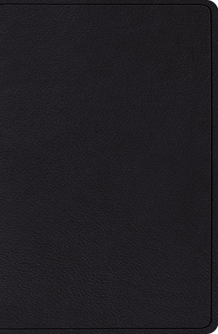 ESV Verse-by-Verse Reference Bible Top Grain Leather, Black
