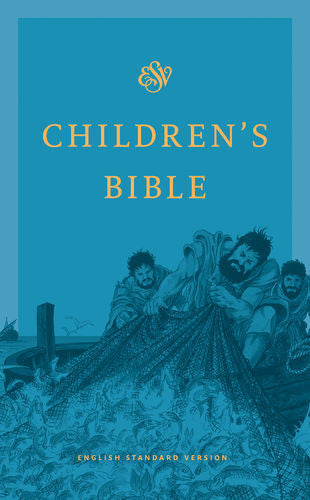 ESV Children's Bible Hardcover, Blue
