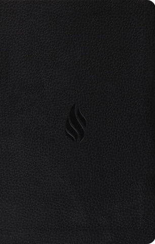 ESV Premium Gift Bible  TruTone®, Midnight, Flame Design