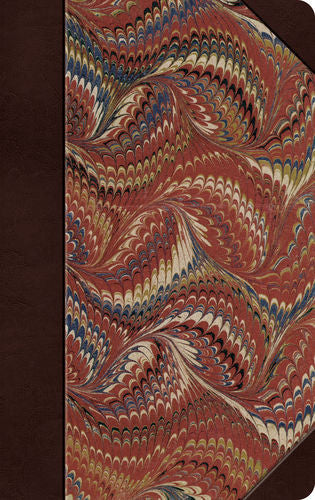ESV Thinline Bible Hardcover, Classic Marbled