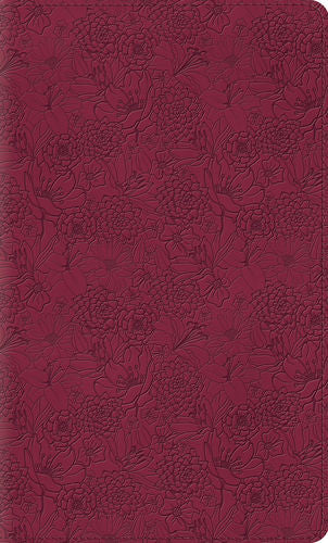 ESV Thinline Bible (TruTone, Pink Petals)