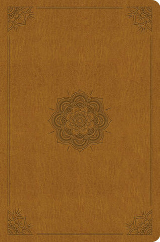 ESV Compact Outreach Bible, Premium Edition TruTone®, Goldenrod, Emblem Design