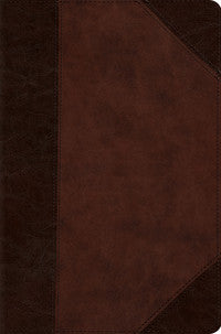 ESV Compact Bible TruTone®, Brown/Walnut, Portfolio Design