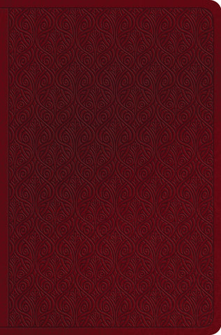 ESV Value Compact Bible  TruTone®, Ruby, Vine Design