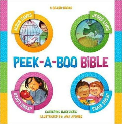 Peek-A-Boo Bible: 4 Board Books