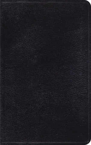 ESV Thinline Bible Genuine Leather, Black