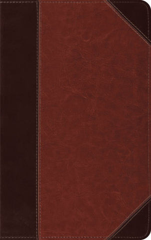 ESV Thinline Bible TruTone®, Brown/Cordovan, Portfolio Design
