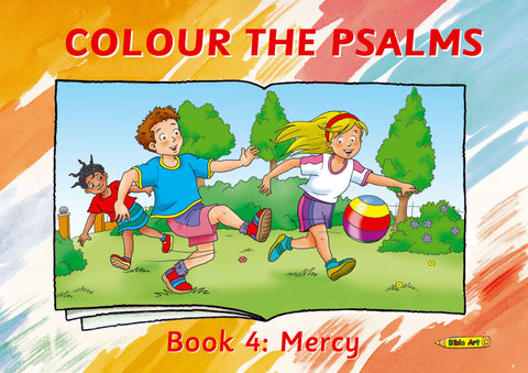 Colour the Psalms Book 4: Mercy (Bible Art)