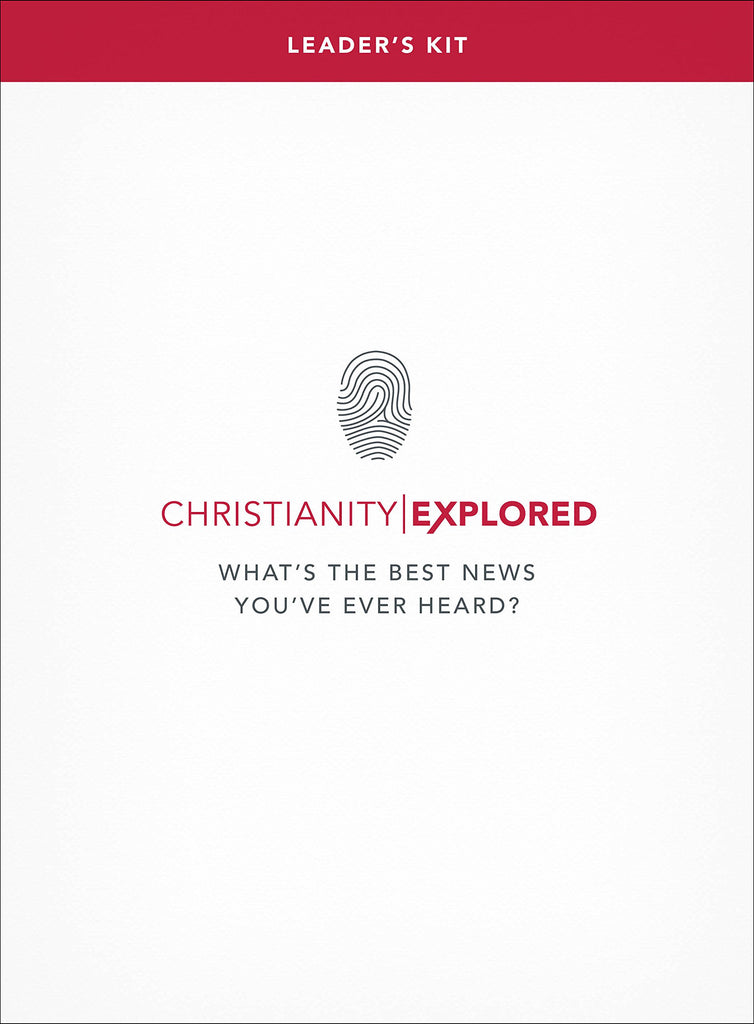 Christianity Explored Leader's Handbook What's the best news you've ever heard?