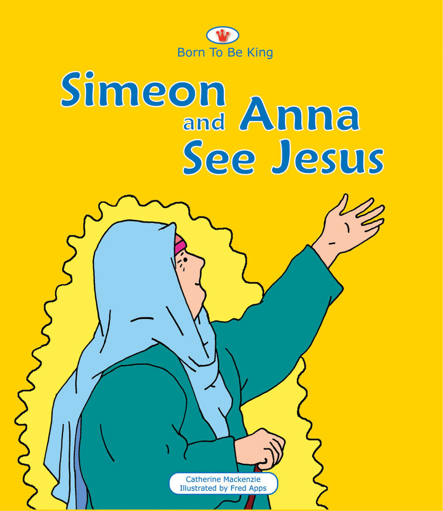 Simeon And Anna See Jesus