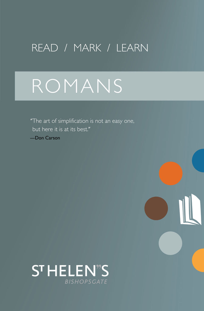 Read Mark Learn: Romans - A Small Group Bible Study