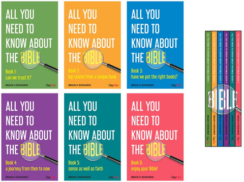 All you need to know about the Bible: Full Set of 6 Books