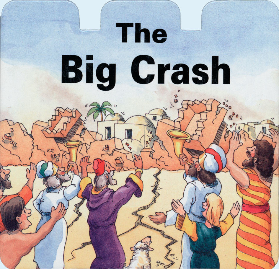 The Big Crash (Shaped Board Books)