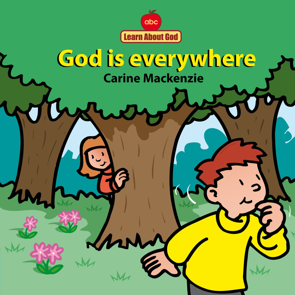 God Is Everywhere (Board Book)
