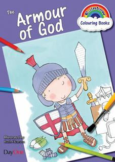 The Armour of God (Rainbow Colouring Book)