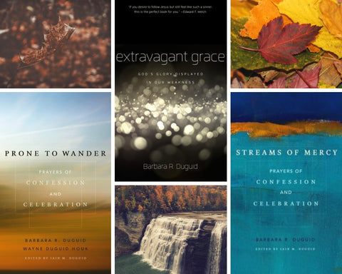 Barbara Duguid 3 Volume Devotional Set (Extravagant Grace, Prone to Wander, Streams of Mercy)