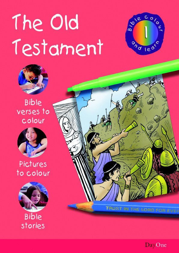 Bible Colour and Learn #1: The Old Testament