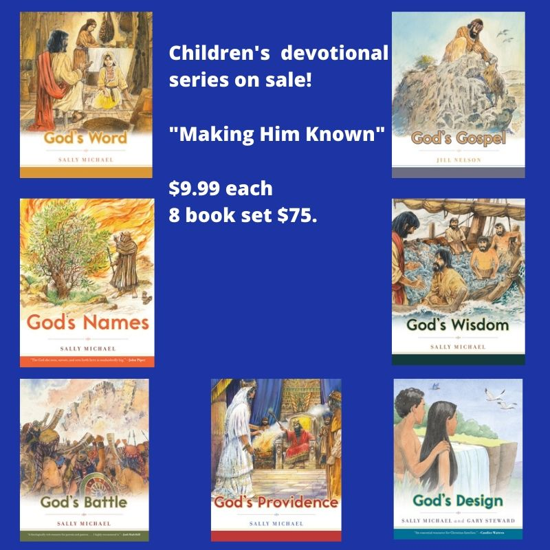 8 Book Children's Devotional set (Making Him Known)