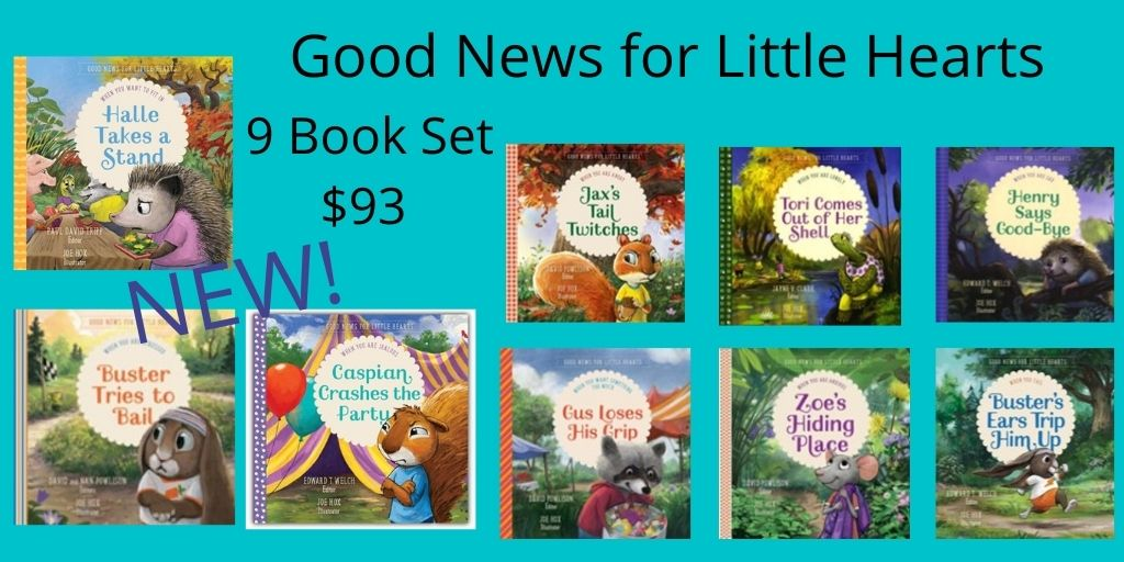 Good News for Little Hearts 9  Book Set  (Good News for Little Hearts)