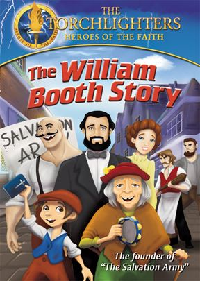 Torchlighters: William Booth Story DVD