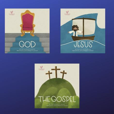 Big Theology for Little Hearts Board Books  - 3 Volume Set