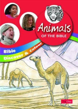 Animals of the Bible (Bible Discover & Colour)