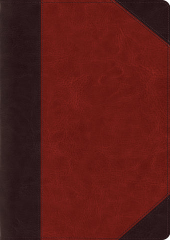 ESV Study Bible, Large Print, Brown/Cordovan