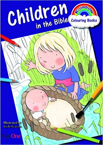 Children in the Bible (Rainbow Colouring Book)
