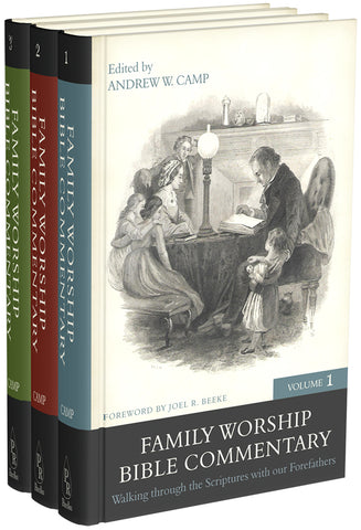 Family Worship Bible Commentary: 3 Volume Set