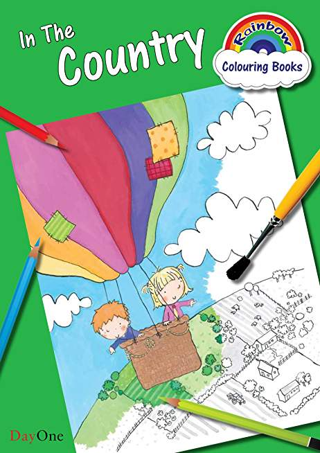 In the Country (Rainbow Colouring Books)