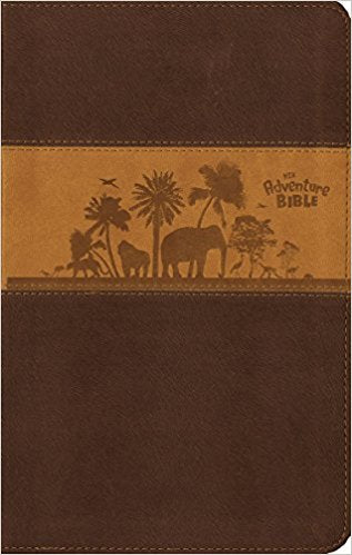 NIV Adventure Bible (Chocolate/Toffee/Jungle Scene)