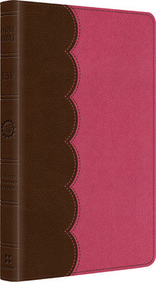 ESV Kid's Thinline Bible (TruTone, Chocolate/Bubble Gum)