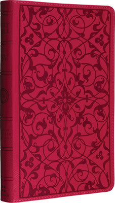 ESV Thinline Bible, TruTone, Wild Rose, Floral Design