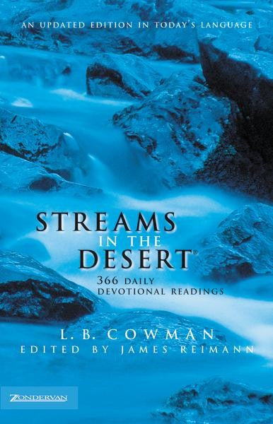 Streams In The Desert: 366 Daily Devotional Readings (NIV)