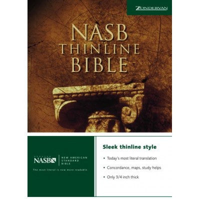 NASB Thinline Bible (Paperback)