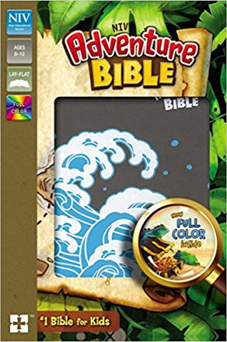NIV Adventure Bible (Gray/Ocean Waves)