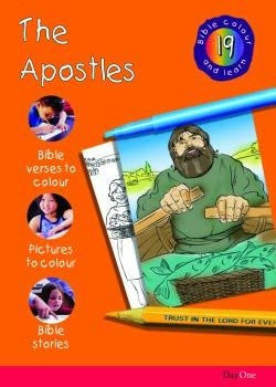 Bible Colour and Learn #19: The Apostles
