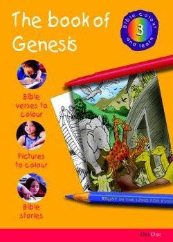 Bible Colour and Learn #3: The Book of Genesis