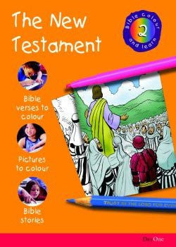 Bible Colour and Learn #2: The New Testament