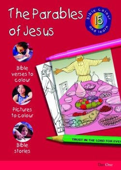 Bible Colour and Learn #15: Parables of Jesus