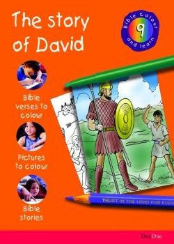 Bible Colour and Learn #9: The Story of David