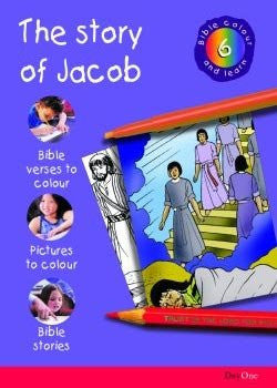 Bible Colour and Learn #6: The Story of Jacob