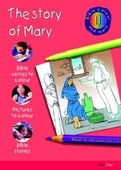 Bible Colour and Learn #11: The Story of Mary