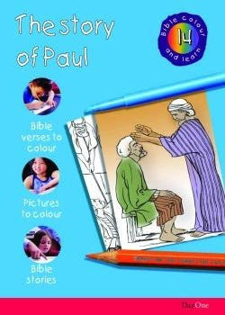 The Story of Paul (Bible Colour and Learn -14)