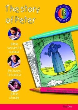 Bible Colour and Learn #13: The Story of Peter