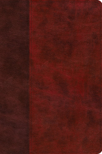 ESV Gospel Transformation Study Bible: Christ in All of Scripture, Grace for All of Life  (TruTone®, Burgundy/Red, Timeless Design)