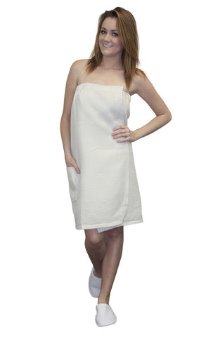 Spa Body Wrap Towel White